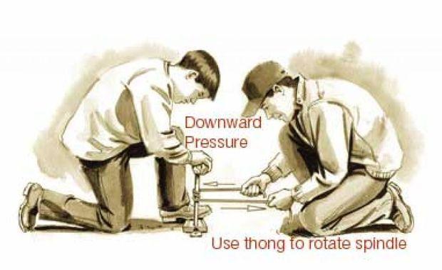 2 man hand drill