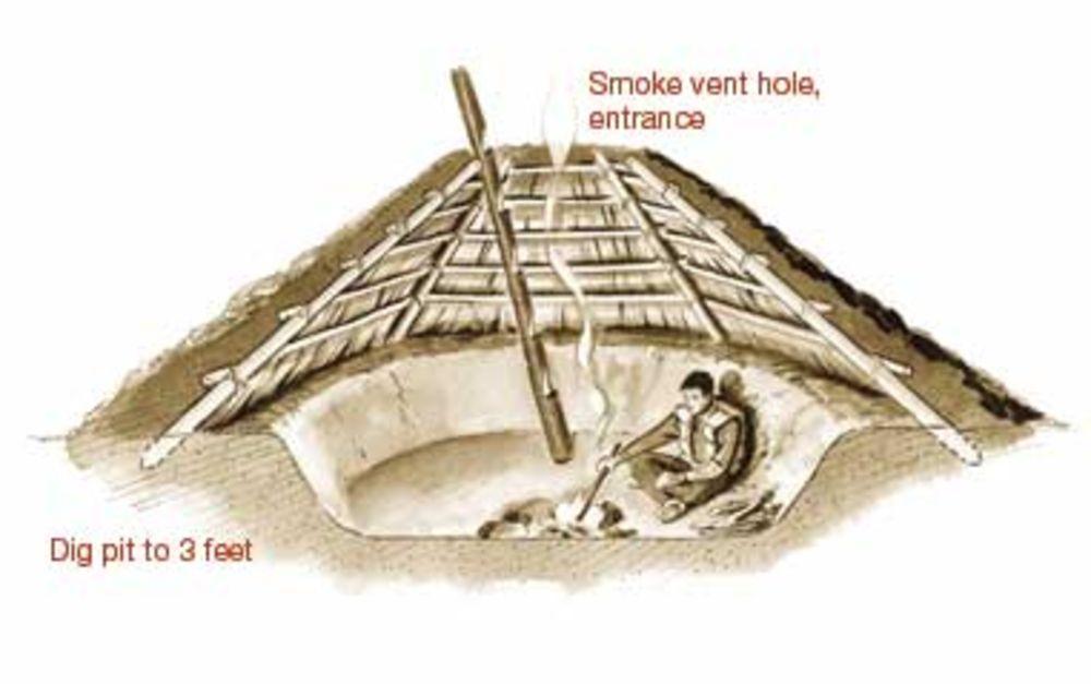 Salish Subterranean Shelter